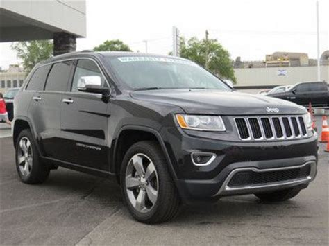 2014 Jeep Warranty Sell Used 2014 Jeep Grand Limited 4wd Awd V8 Roof
