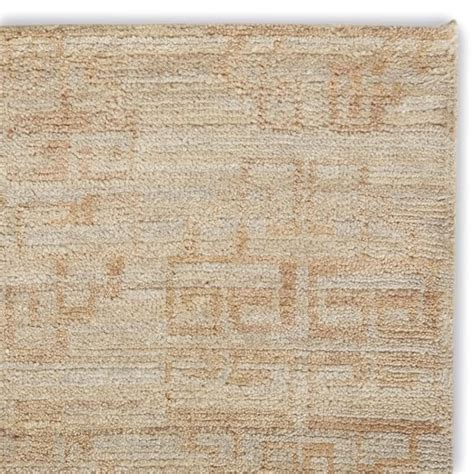 Zeba Rugs zeba knotted rug swatch chagne williams sonoma