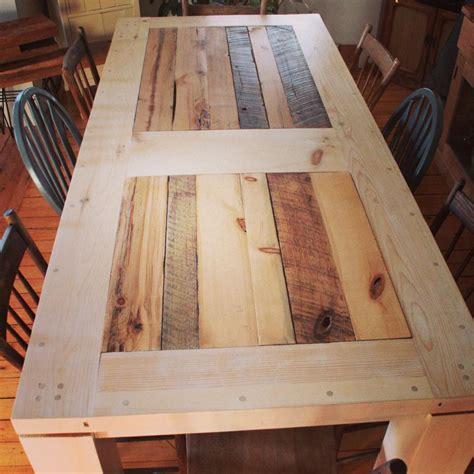 table de en bois table sur mesure bois et acier j 233 r 244 me lavoie 201 b 233 niste