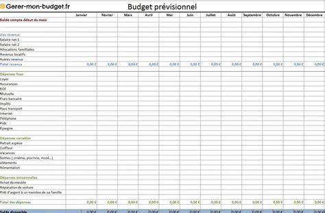 Budget Calendrier Gratuit Tableau Excel Budget Familial Gratuit Domestique