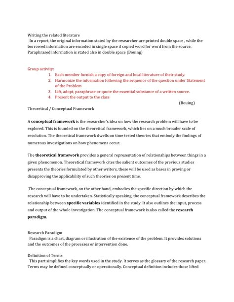 Shopping Problems Essay by Writing A Literature Review Theoretical Framework
