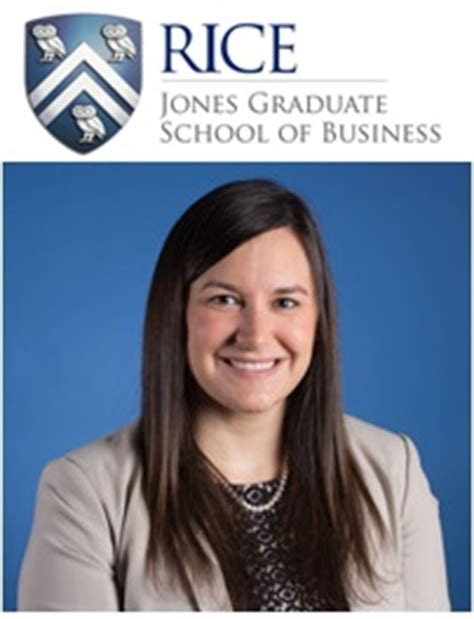 Rice Graduate School Mba Immersion by Rice Mba Jones With Admissions Team Mba