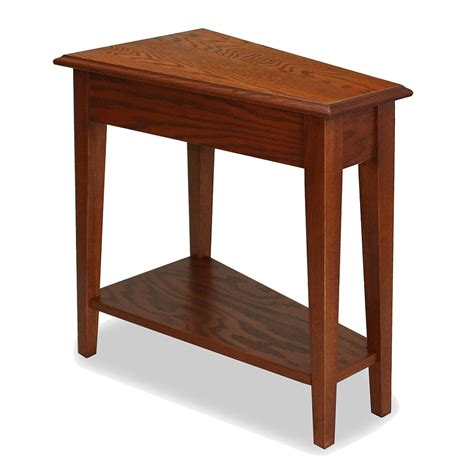furniture end tables wedge end table home furniture design