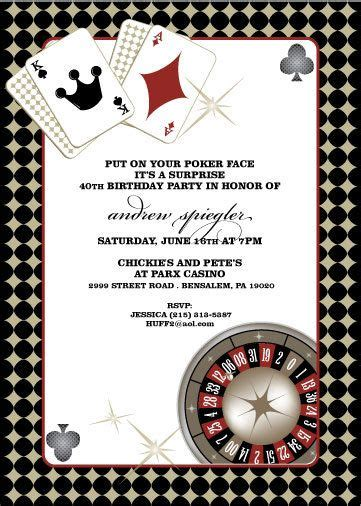 74 Best Images About Casino Night Silent Auction Ideas On Pinterest Invitation For Birthday Free Vegas Themed Invitation Templates