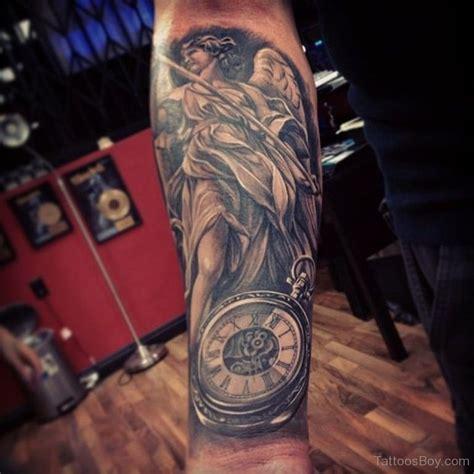 Tattoo Angel And Clock | clock tattoos tattoo designs tattoo pictures page 13