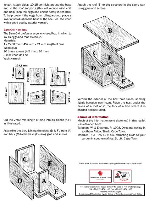 how to make an owl box 7owl nest boxes page 2 route