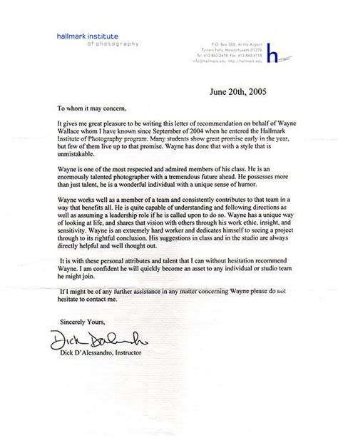 reference letter writing a paraprofessional letter of recommendation just