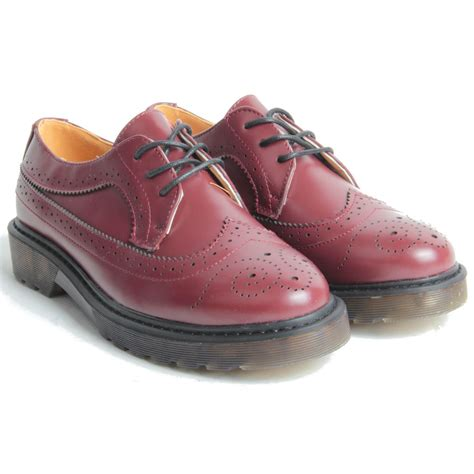chunky oxford shoes chunky platform sole lace up oxford brogue