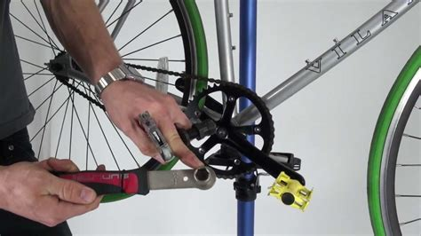 Crank Shimano C050 how to remove a crank set