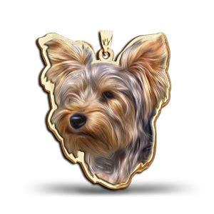 yorkie charm gold terrier charms 14k gold yorkie pendants at yorkiechecks