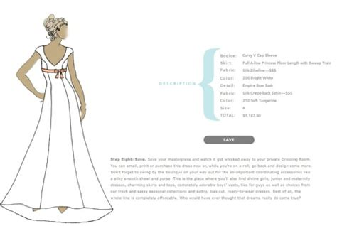 design clothes your own games design your own wedding dress