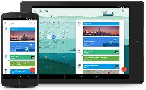 calendar android calendar ahora con material design y nuevo visor de eventos el androide libre
