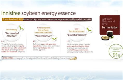 Diskon Innisfree Soybean Energy innisfree soybean energy essence a addict in progress