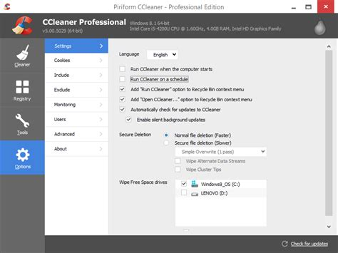 ccleaner uses ccleaner screenshots