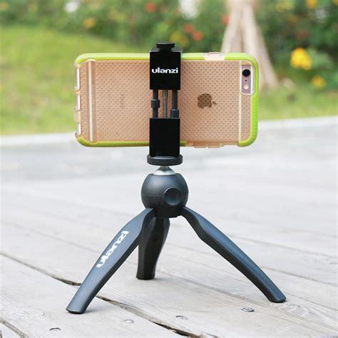 Ulanzi Iron Metal Phone Tripod Mount smartphone tripod mount aluminium universal metal phone tripod adapter for iphone 7 iphone 7