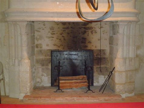 Firebacks For Fireplaces by Antique Firebacks For 15th Century Castle In Sarthe