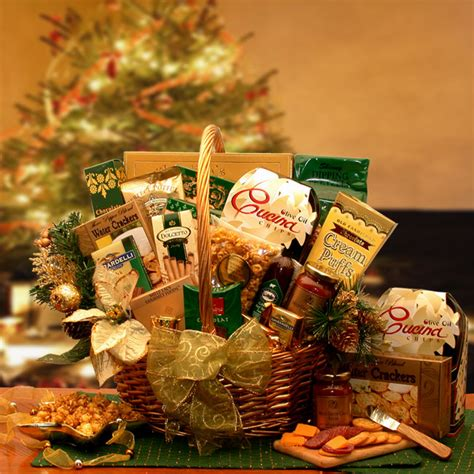 yuletide gathering gourmet holiday gift basket
