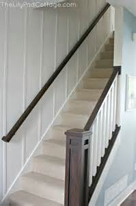 Wall Banister Rail by Painted Planked Walls Picmia
