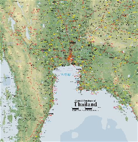 Find In Thailand Map Of Thailand 3 Maps Of Thailand That Will Help You Find Thai Towns