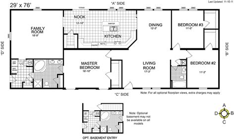 pictures and floor plans of mobile homes