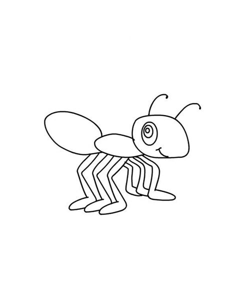 queen ant coloring page queen ant coloring page