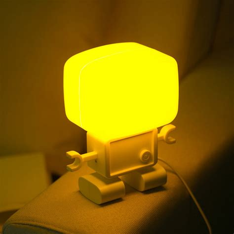 intelligent light operated robot led small light table l alex nld