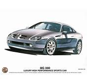 2001 MG X80  Concepts