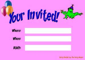 invitations theruntime