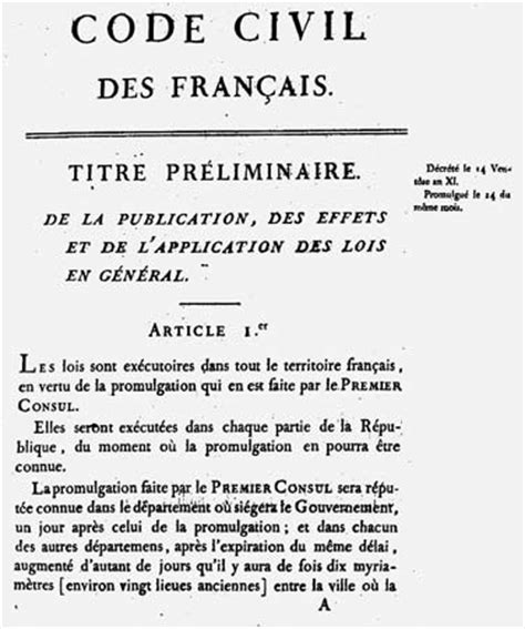 the code napoleon or the civil code literally translated from the original and official edition published at in 1804 classic reprint books napoleonic code 1804 encyclopedia britannica