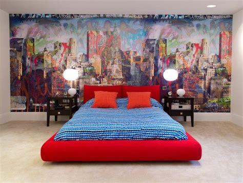 le murale chambre papier peint chambre ado garcon kirafes