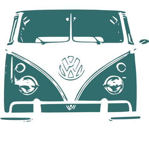 volkswagen van drawing vw cer van clip art at clker com vector clip art