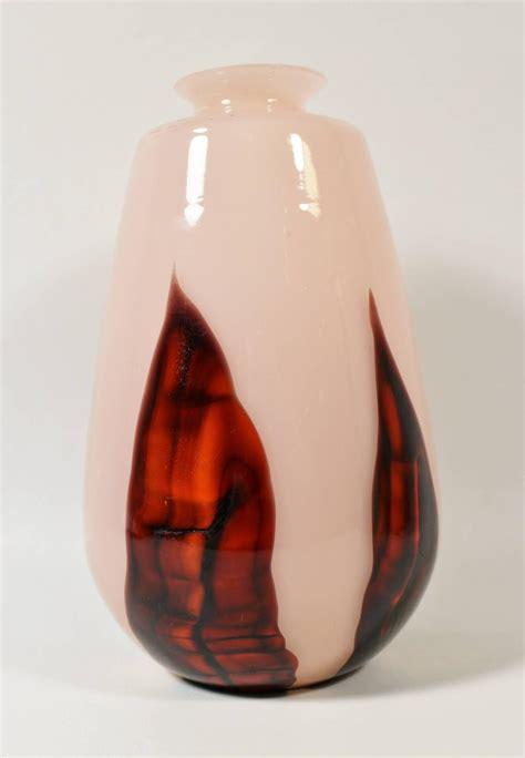 Kralik Glass Vase by Kralik Quot Bambus Quot Glass Deco Vase For Sale At