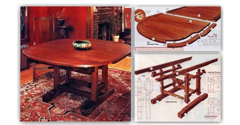extendable dining table plans extendable dining table plans woodarchivist