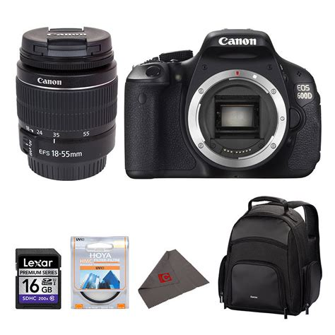 Canon 600d Lensa Kit 18 55mm canon eos 600d dslr 18 55mm iii nu of nooit kit