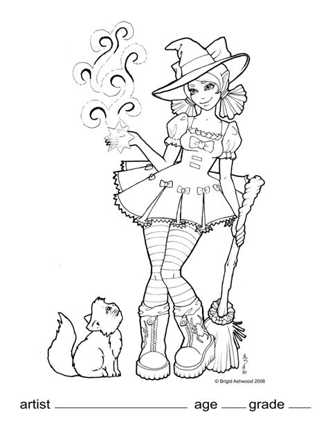 wicked elphaba pages coloring pages