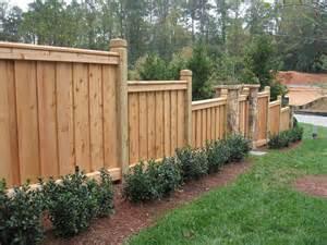 custom fence design