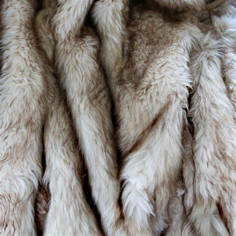best home fashion fox faux fur