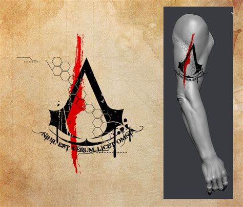 assassins creed tattoos assassins creed by zeymar on deviantart
