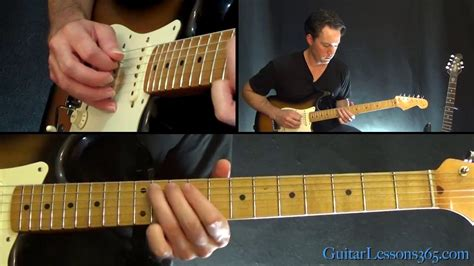 lenny guitar lesson part  stevie ray vaughan youtube
