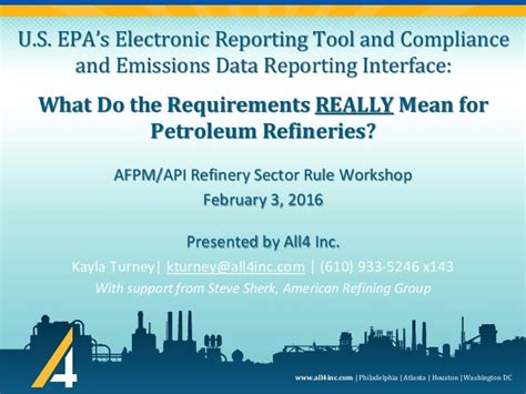 epa s us epa s electronic reporting tool and compliance and