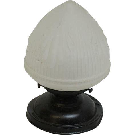 acorn street l globe flush mount light with acorn globe from oldegoodthings on