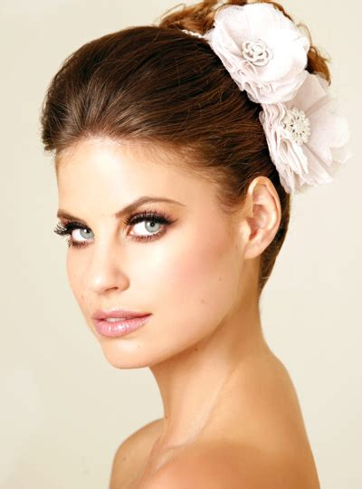 Wedding Hair And Makeup by Wedding Hair And Makeup Bridal Hairstyles Modern Wedding