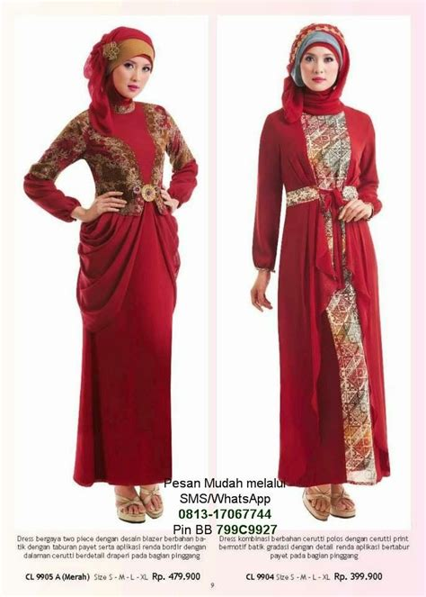 Dress Pesta Gamis Lebaran 17 best images about dress on kebaya brokat fashion and kebaya