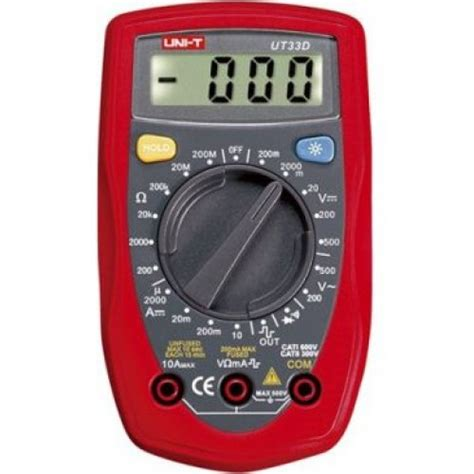 Jual Multimeter Uni T buy in india uni t ut33d multimeter at low price from dna technology nashik
