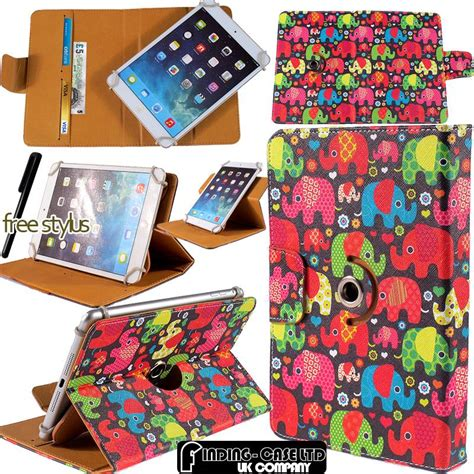 Cover Sarung Tablet Lenovo Universal 8 Inch Oeiginal Hp Resmi rotating stand wallet leather cover for various archos 7 quot 8 quot inch tablets ebay
