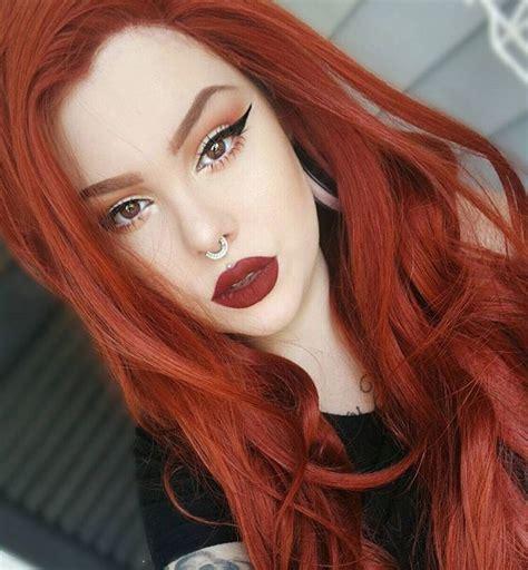 natural redhead eyebrows drawn redhead natural pencil and in color drawn redhead