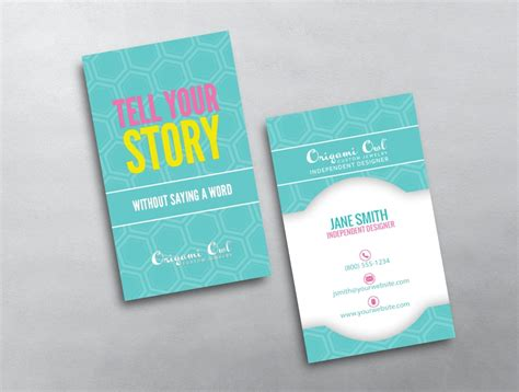Origami Owl Business Reviews - origami owl business card 15