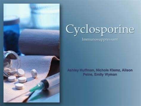 powerpoint templates free download on health cyclosporine