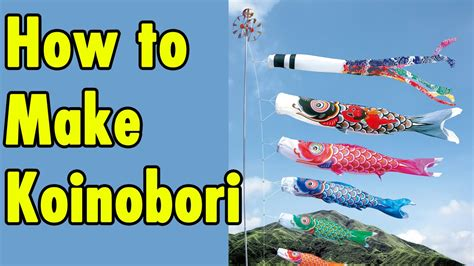 how to make koinobori guide