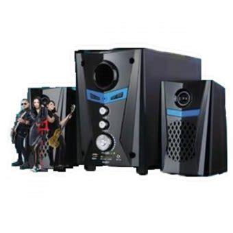 Alcatroz X Audio 2 1 Speaker Hitam gmc 888d1 multimedia speaker hitam lazada indonesia